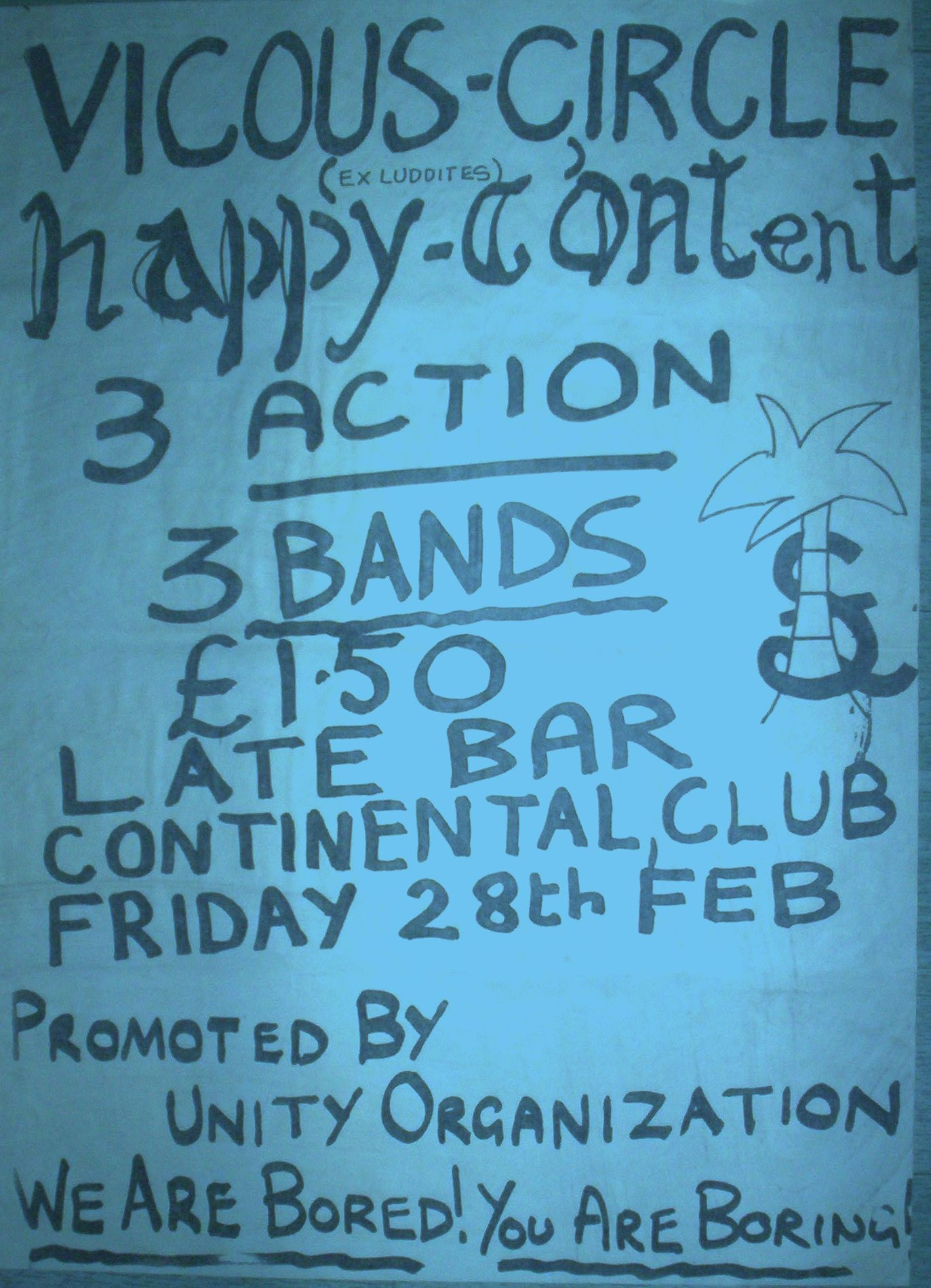 Poster Continental Club